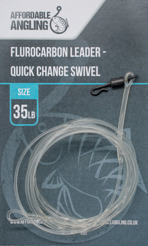 Flurocarbon Leader - Quick Change Swivel