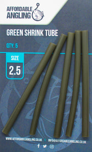 Shrink Tubing - Green