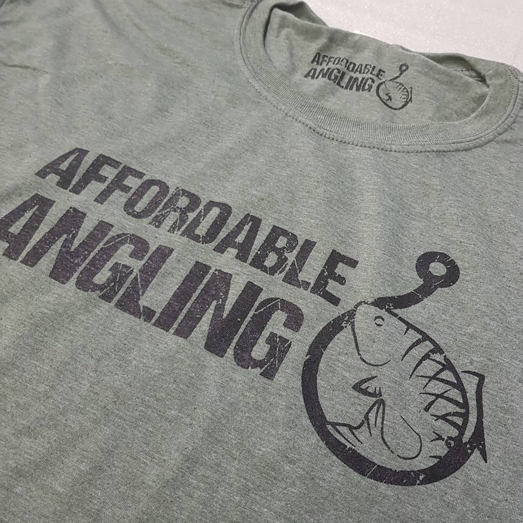 Affordable Angling Olive Tshirt