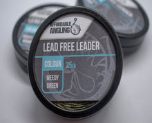 Leadless Leaders Weedy Green 10m Spools