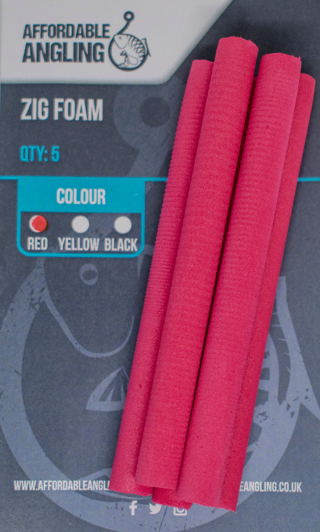 Zig Foam - Red