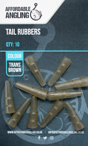 Tail Rubbers - Trans Brown
