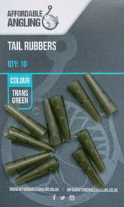 Tail Rubbers - Trans Green