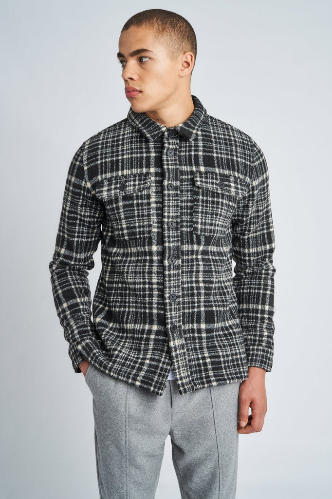 JAXON WOOL OVERSHIRT