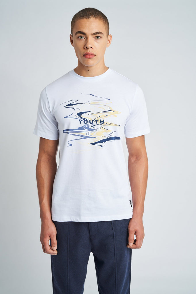 AQUEOUS GRAPHIC T-SHIRT
