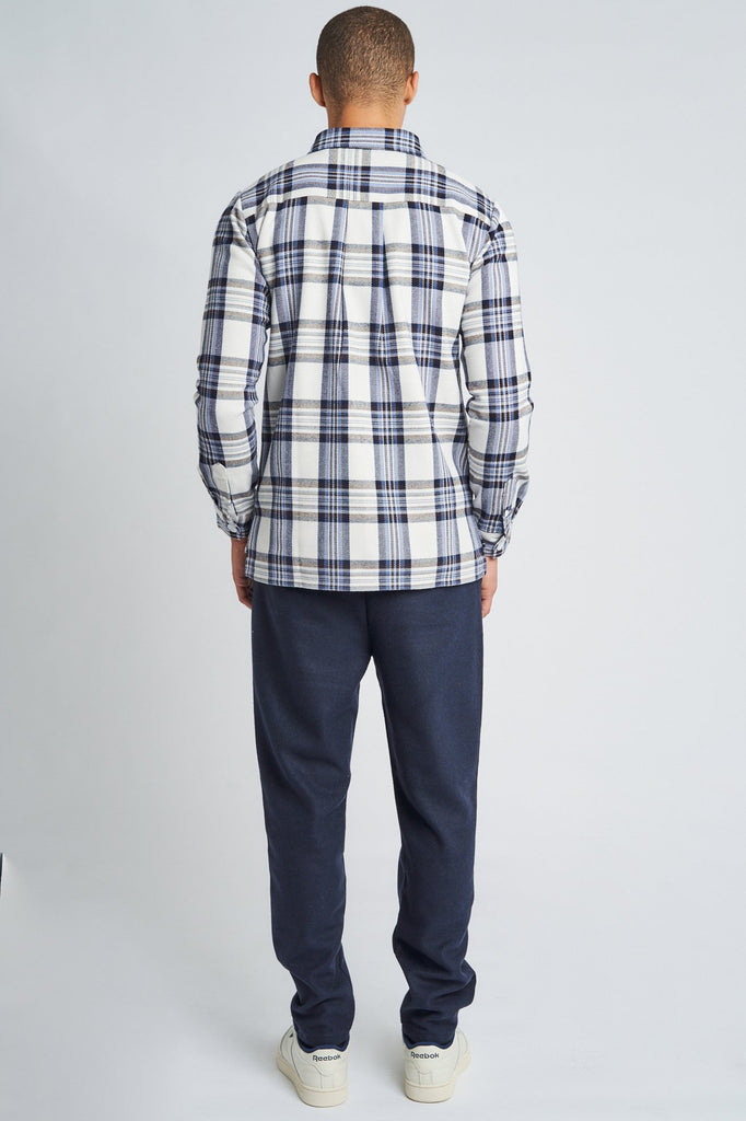 GREYSON CHECK OVERSHIRT