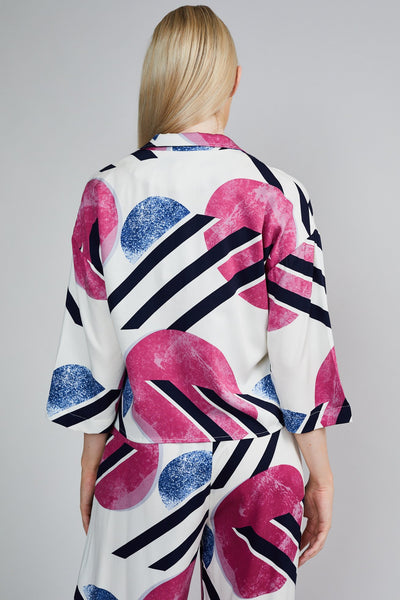 THE PRINTED BLOUSE