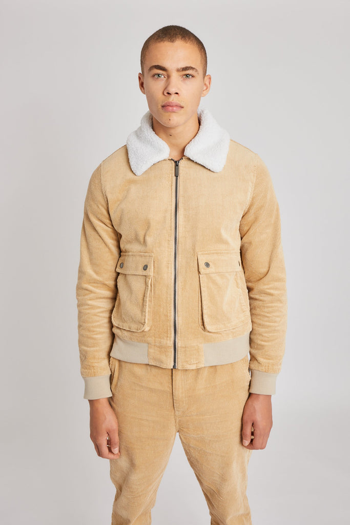 LUCAS CORD JACKET