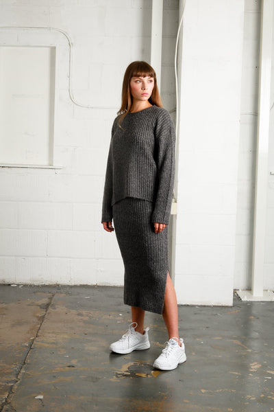 PALLADIUM KNITTED SKIRT