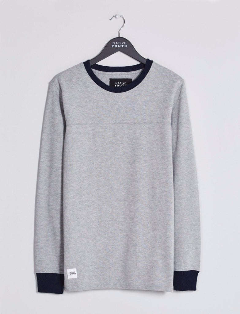 Grey Avon Crewneck Sweatshirt