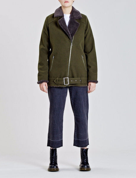 Chroma Sherpa Aviator Jacket