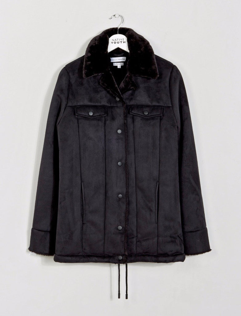 Midnight Sherpa Jacket