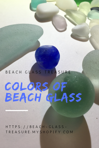 Colors of beach glass