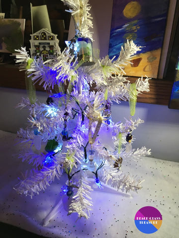 Beach Glass Christmas Tree - Christmas Tree