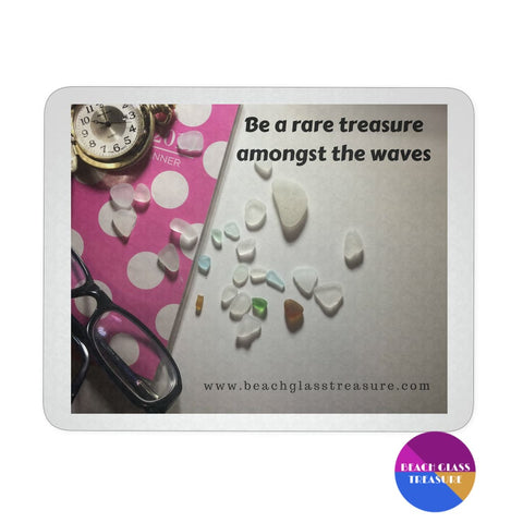 Beach Glass Treasure Mousepad - Mousepads