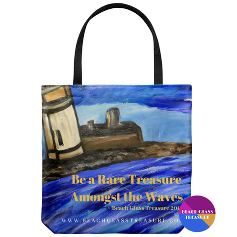 Beach Tote Bag - Cape Perch Inspired - Tote Bags
