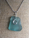 Swimming mermaid necklace *SOLD*