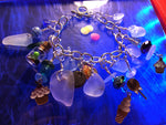 Candy store Beach Glass charm bracelet