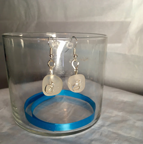 White sands earrings *SOLD*