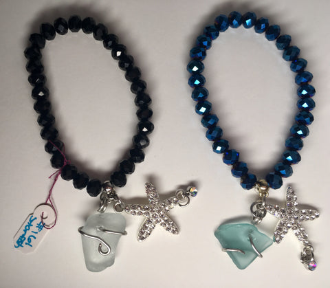 Simply nautical bracelets