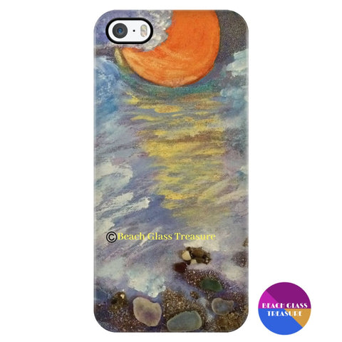 Moonlit Cloudy Beach Iphone 5/5S Phone Case - Iphone 5/5S - Phone Cases