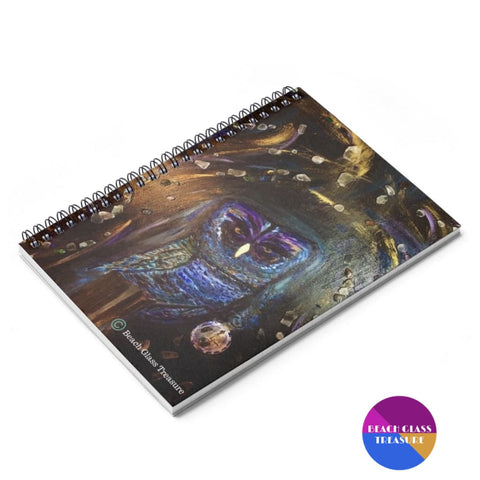 Shattered Time Piece Spiral Notebook - Ruled Line - Spiral Notebook - Paper Products