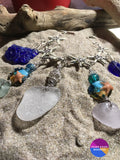 Starfish Beach Glass Bracelet - Jewelry