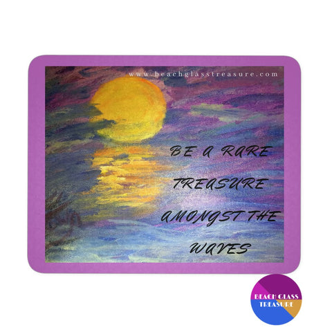 Sunset Into Darkness Mousepad - Sunset Into Darkness Purple - Mousepads