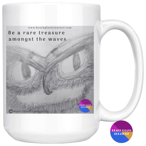 Wise Owl Coffee Mug - Wise Owl Coffee Mug - Drinkware
