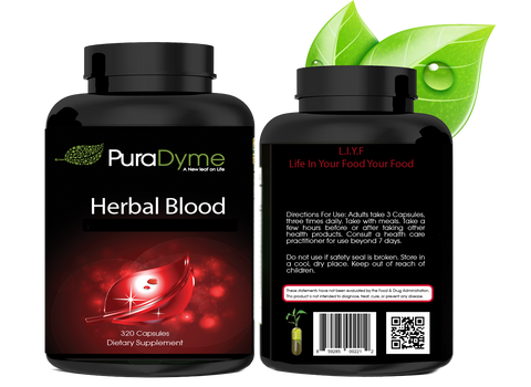 HERBAL BLOOD - HERBAL BLOOD CLEANSE