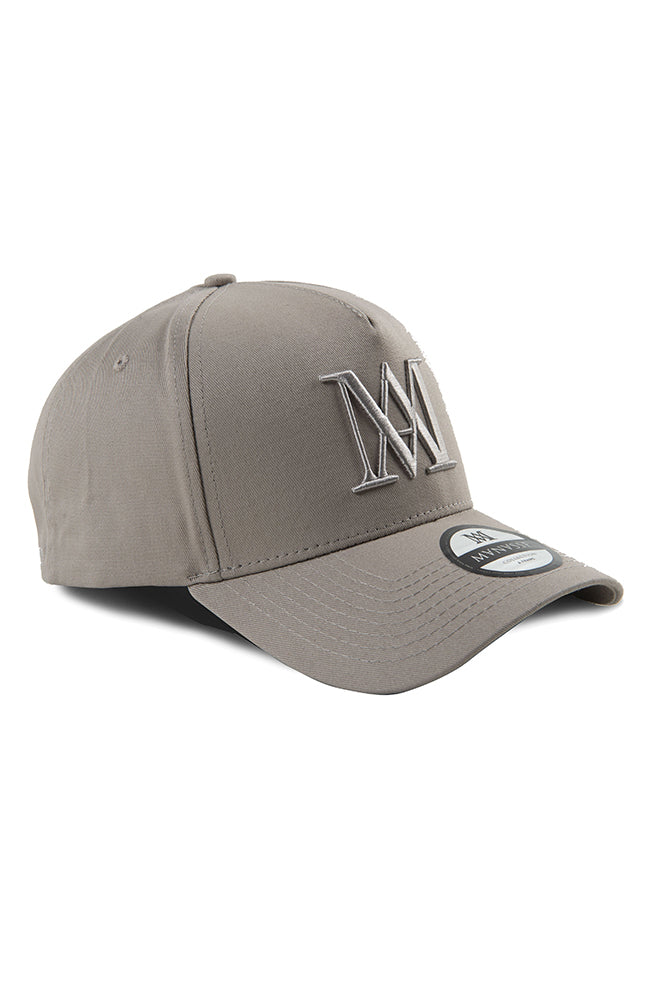 Manasse A-Frame Hat - Grey on Grey