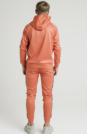 Illusive London Taped Overhead Hoodie - Orange