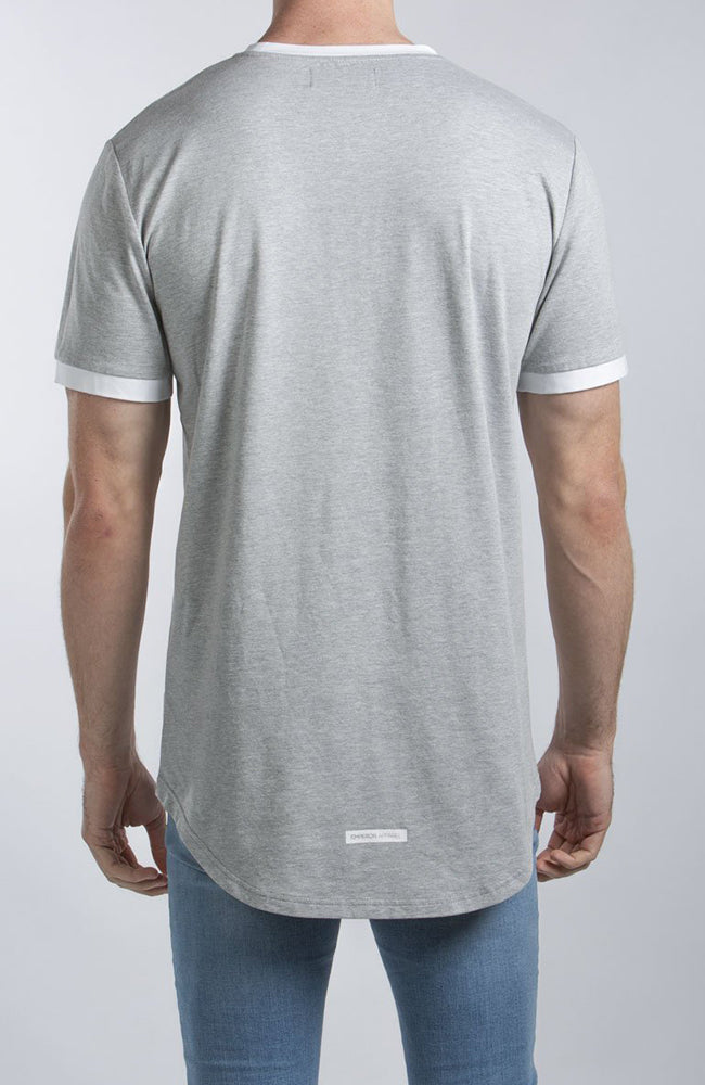 Emperor Apparel Gio Scoop T-Shirt - Grey