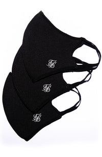 Siksilk Face Mask - 3 Pack