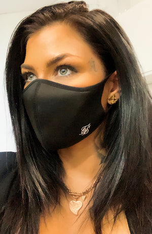 Siksilk Face Mask - Black