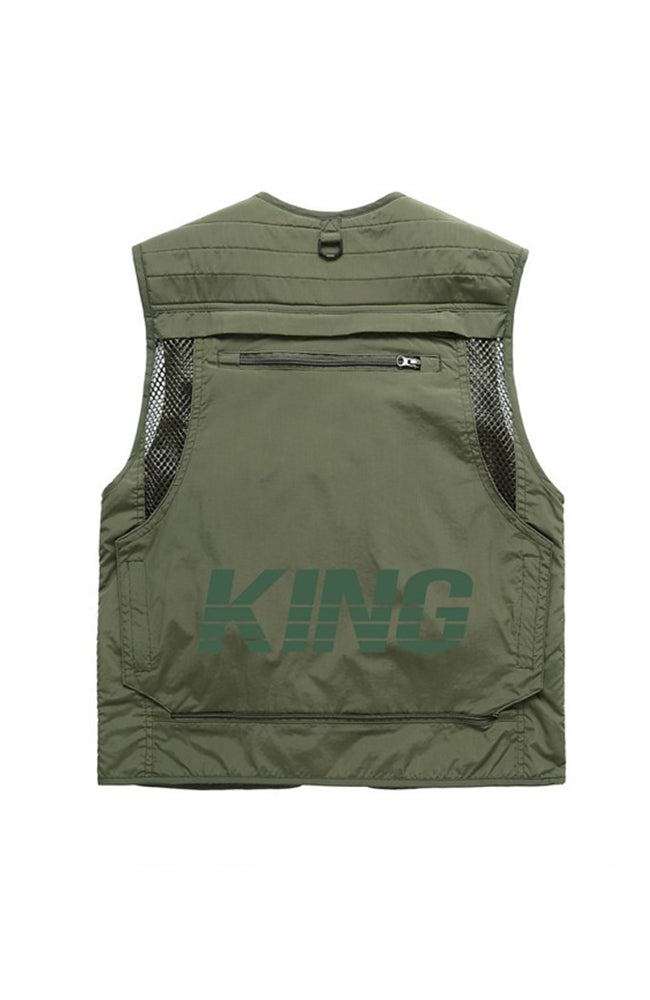King Apparel Tactical Vest - Fern