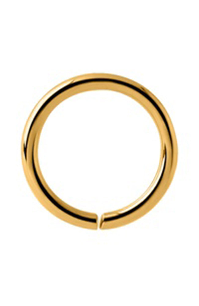 Bright Gold Continuous Ring - 18 Gauge