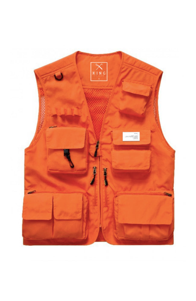 King Apparel Tactical Vest - Orange