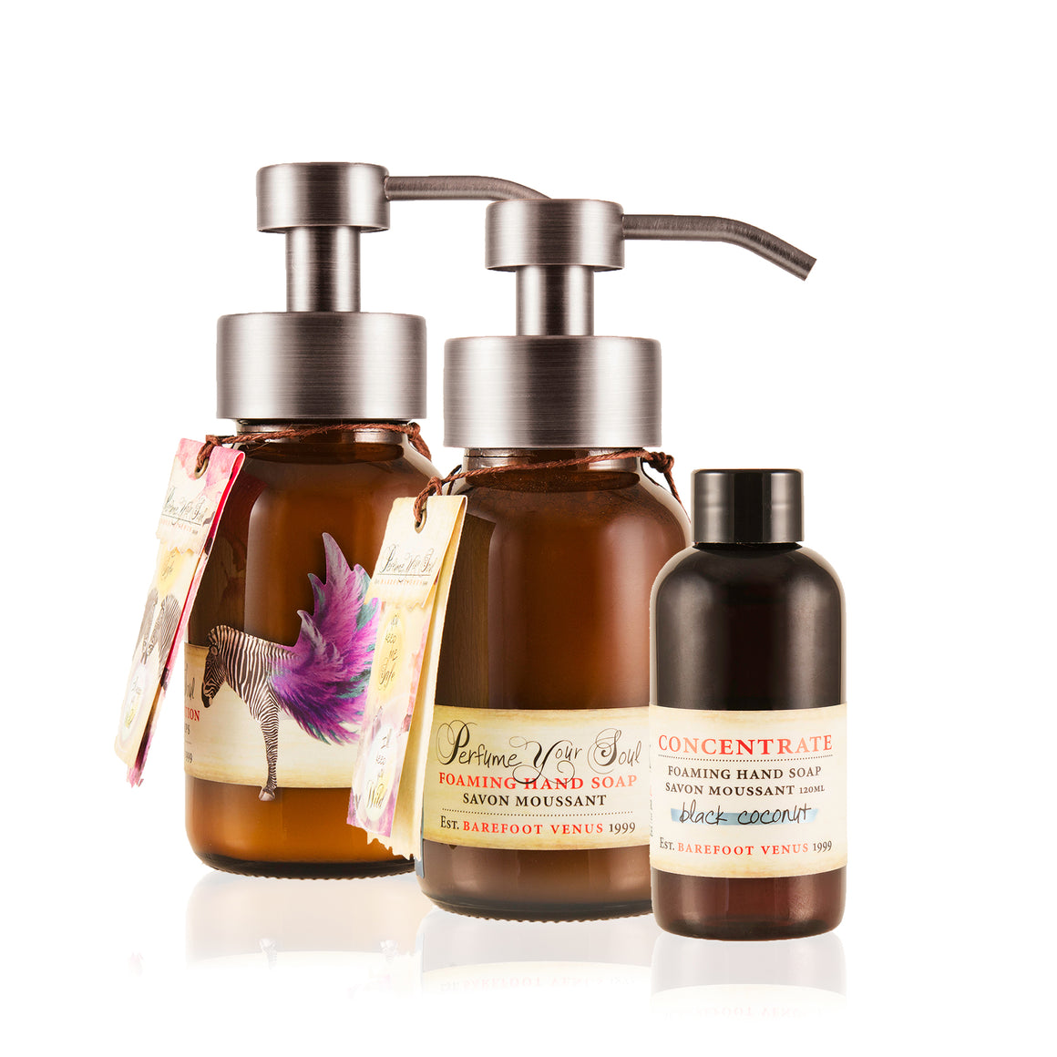 Apothecary Refillable Lotion & Soap Set
