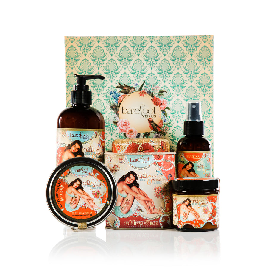 Wild Ginger and Sweet Orange~Abundance Gift Set