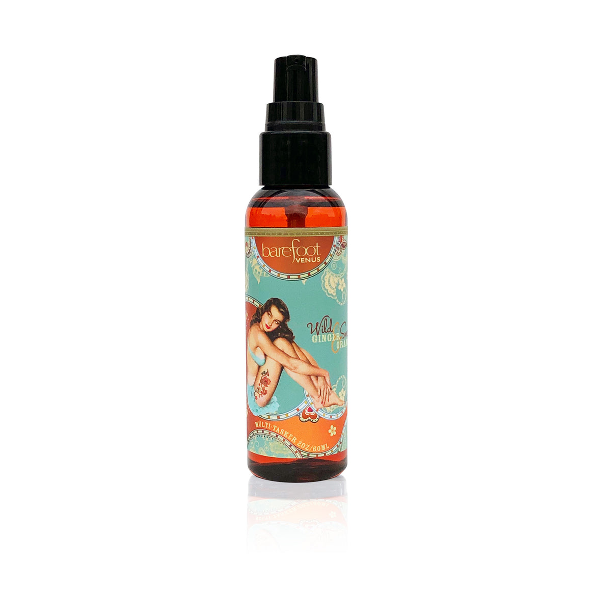 Wild Ginger & Sweet Orange~Massage & Bath Oil