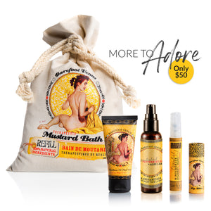 More to Adore Mustard Bath Essentials Kit