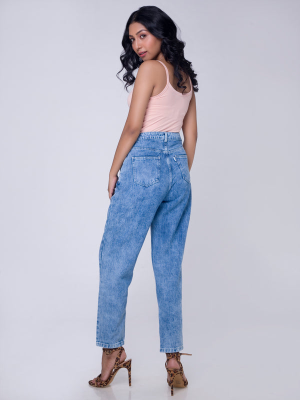 VINTAGE BLUE SLOUCHY JEANS