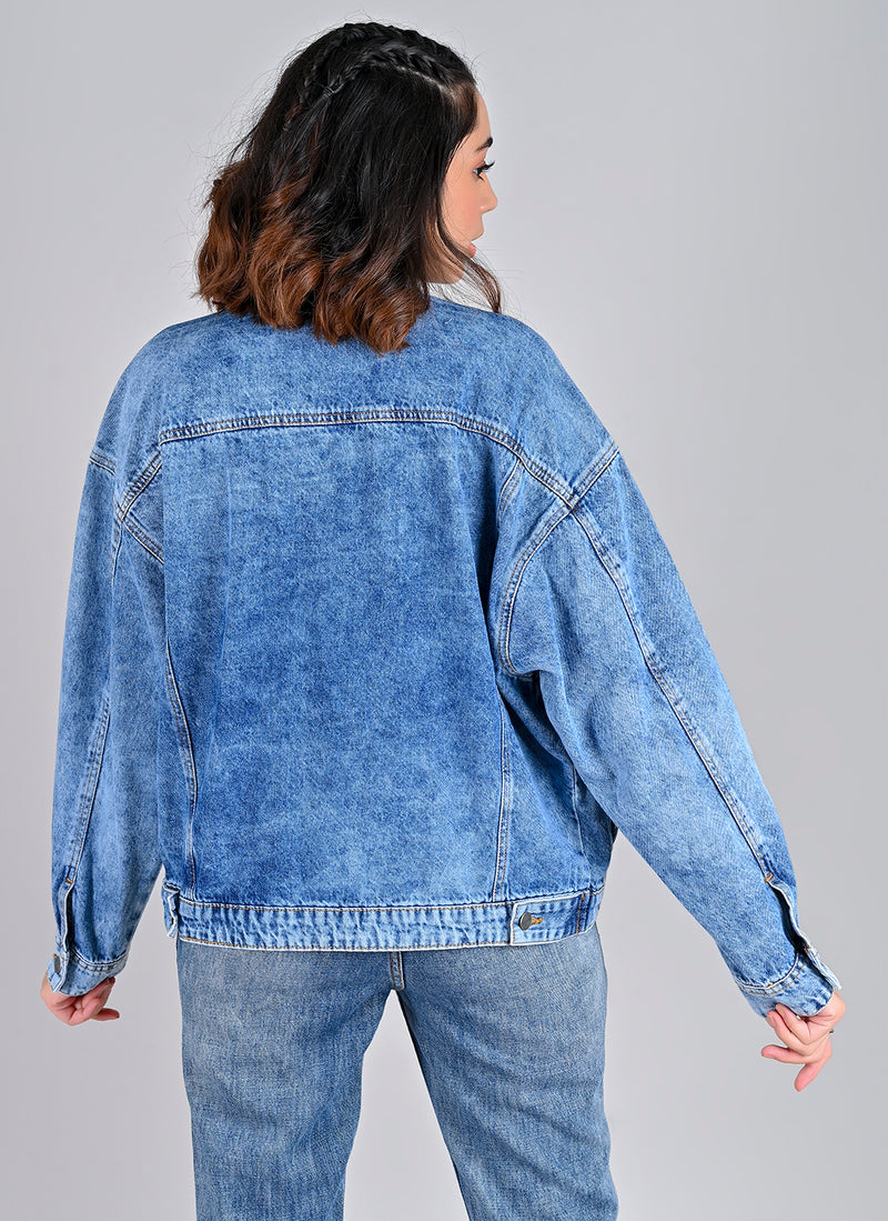 OVERSIZED UNISEX DENIM JACKET
