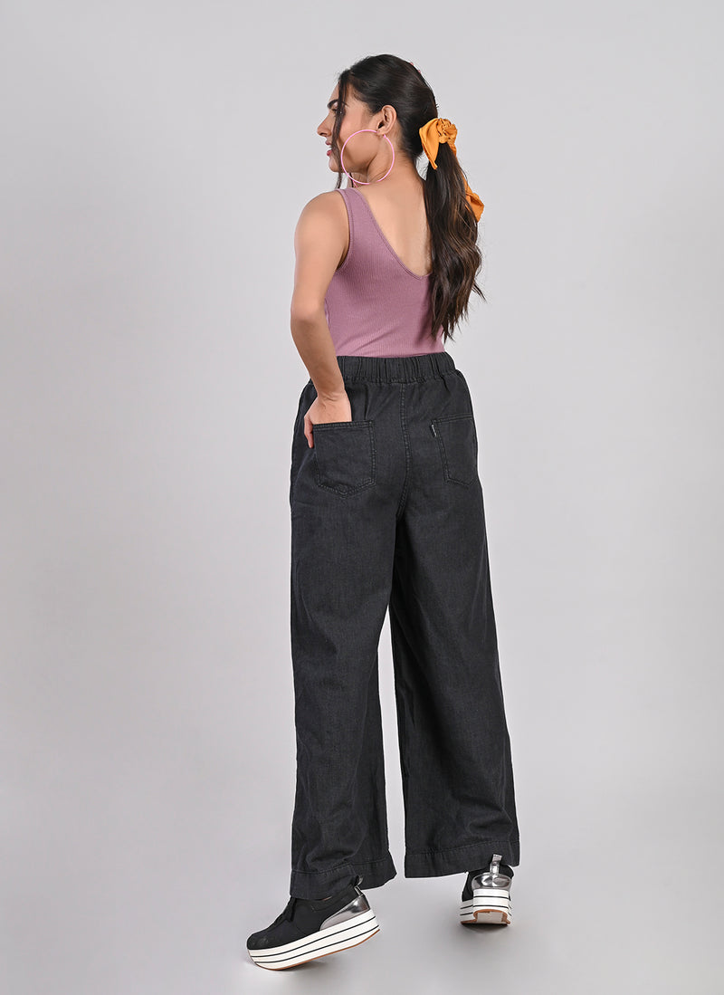 GREY CARPENTER POCKET PANTS