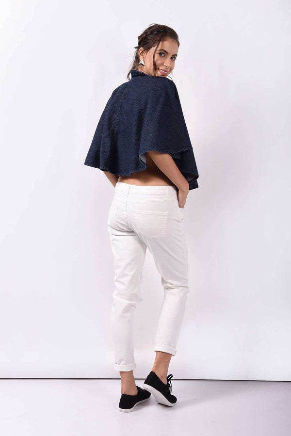 Denim Dark Blue cape - FREAKINS
