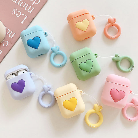 Pastel Love Airpods Protecter Case