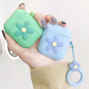 Pastel Flower Airpods Protecter Case