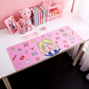 kawaii Sailor Moon and Card Captor Sakura Mouse Pad - juwas.com online store