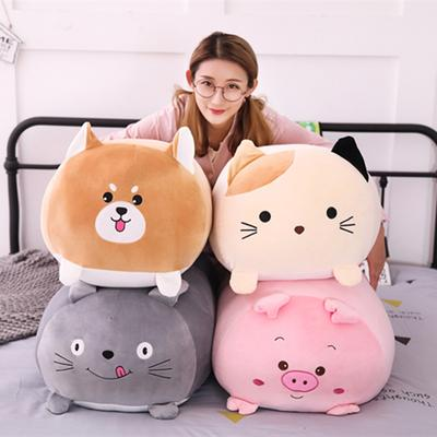 SOFT SQUISHY ANIMAL CAT KITTEN CARTOON STUFFED TOYS - juwas.com online store